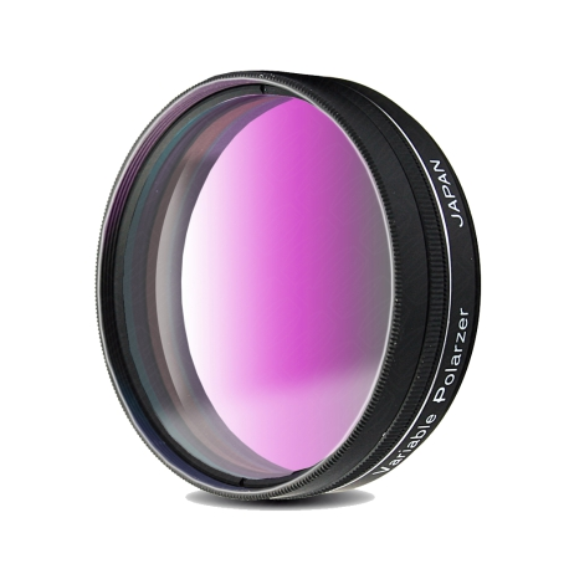 Jeu de filtres polarisants filetage standard 48 mm