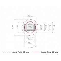 BAADER PLANETARIUM Filtre de conversion astro pour Canon EOS 300D