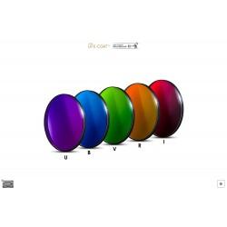 BAADER PLANETARIUM FIiltre bleu CCD, standard 31.75 mm