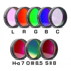 BAADER PLANETARIUM Jeu complet de filtres imagerie CCD standard 50.8 mm